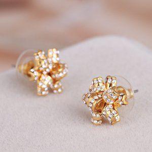 Kate Spade Diamond Flower Earrings